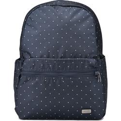 "Pacsafe Daysafe Anti-Theft 13"" Laptop Backpack Navy Polka Dot 20520"