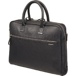 "Samsonite Highline 15.6"" Laptop & Tablet Bailhandle Briefcase Black 70395"