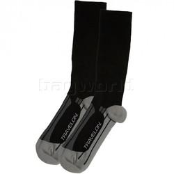 Travelon Travel Accessories Compression Travel Socks Large Black 12528