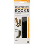Travelon Travel Accessories Compression Travel Socks Large Black 12528 - 2