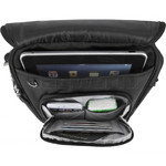 Travelon Classic RFID Blocking Anti-Theft Tablet Tour Bag Medium Black 42472 - 4