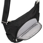 Travelon Classic Anti-Theft Crossbody Bucket Bag Black 42757 - 4
