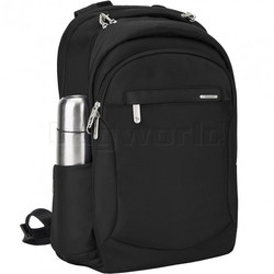 "Travelon Classic Anti-Theft 15.6"" Laptop & Tablet Backpack Black 43114"