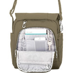 Pacsafe Metrosafe LS200 Anti-Theft Tablet Shoulder Bag Earth Khaki 30420 - 3
