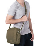 Pacsafe Metrosafe LS200 Anti-Theft Tablet Shoulder Bag Earth Khaki 30420 - 6