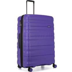 Antler Juno 2 Large 80cm Hardside Suitcase Purple 42215