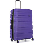Antler Juno 2 Large 80cm Hardside Suitcase Purple 42215