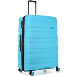 Antler Juno 2 Large 80cm Hardside Suitcase Turquoise 42215