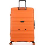 Antler Juno 2 Hardside Suitcase Set of 3 Orange 42215, 42216, 42219 with FREE GO Travel Luggage Scale G2006 - 1