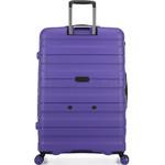 Antler Juno 2 Hardside Suitcase Set of 3 Purple 42215, 42216, 42219 with FREE GO Travel Luggage Scale G2006 - 1