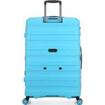 Antler Juno 2 Large 80cm Hardside Suitcase Turquoise 42215 - 1