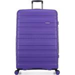 Antler Juno 2 Hardside Suitcase Set of 3 Purple 42215, 42216, 42219 with FREE GO Travel Luggage Scale G2006 - 2