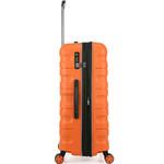 Antler Juno 2 Hardside Suitcase Set of 3 Orange 42215, 42216, 42219 with FREE GO Travel Luggage Scale G2006 - 3