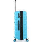 Antler Juno 2 Large 80cm Hardside Suitcase Turquoise 42215 - 3
