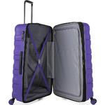 Antler Juno 2 Hardside Suitcase Set of 3 Purple 42215, 42216, 42219 with FREE GO Travel Luggage Scale G2006 - 4