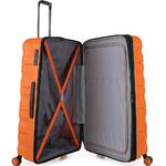 Antler Juno 2 Hardside Suitcase Set of 3 Orange 42215, 42216, 42219 with FREE GO Travel Luggage Scale G2006 - 4