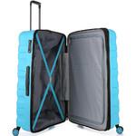 Antler Juno 2 Large 80cm Hardside Suitcase Turquoise 42215 - 4