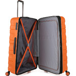 Antler Juno 2 Large 80cm Hardside Suitcase Orange 42215 - 4