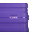 Antler Juno 2 Hardside Suitcase Set of 3 Purple 42215, 42216, 42219 with FREE GO Travel Luggage Scale G2006 - 7