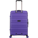 Antler Juno 2 Medium 68cm Hardside Suitcase Purple 42216 - 1
