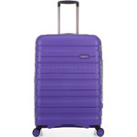 Antler Juno 2 Medium 68cm Hardside Suitcase Purple 42216 - 2