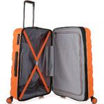 Antler Juno 2 Medium 68cm Hardside Suitcase Orange 42216 - 4