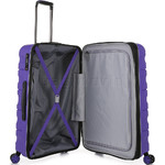 Antler Juno 2 Medium 68cm Hardside Suitcase Purple 42216 - 4