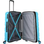 Antler Juno 2 Medium 68cm Hardside Suitcase Turquoise 42216 - 4