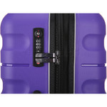 Antler Juno 2 Medium 68cm Hardside Suitcase Purple 42216 - 5