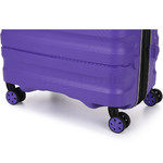 Antler Juno 2 Medium 68cm Hardside Suitcase Purple 42216 - 6