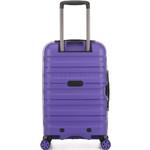 Antler Juno 2 Small/Cabin 56cm Hardside Suitcase Purple 42219 - 1