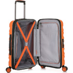 Antler Juno 2 Small/Cabin 56cm Hardside Suitcase Orange 42219 - 3