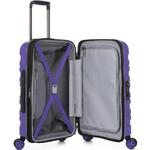 Antler Juno 2 Small/Cabin 56cm Hardside Suitcase Purple 42219 - 3