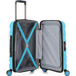 Antler Juno 2 Small/Cabin 56cm Hardside Suitcase Turquoise 42219 - 3