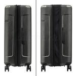 Samsonite Evoa Hardside Suitcase Set of 3 Black 92055, 92054, 92053 with FREE Samsonite Luggage Scale 34042 - 3