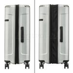 Samsonite Evoa Hardside Suitcase Set of 3 Silver 92055, 92054, 92053 with FREE Samsonite Luggage Scale 34042 - 3