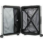 Samsonite Evoa Hardside Suitcase Set of 3 Silver 92055, 92054, 92053 with FREE Samsonite Luggage Scale 34042 - 4