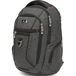 "High Sierra Endeavor Essential 15.4"" Laptop & Tablet Backpack Mercury Heather 03961 with a FREE High Sierra Drink Bottle"