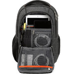 "High Sierra Endeavor Essential 15.4"" Laptop & Tablet Backpack Mercury Heather 03961 with a FREE High Sierra Drink Bottle - 3"