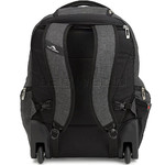 "High Sierra Endeavor 15.4"" Laptop & Tablet Wheel Backpack Mercury Heather 05577 with a FREE High Sierra Drink Bottle - 1"