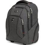 "High Sierra Endeavor 15.4"" Laptop & Tablet Wheel Backpack Mercury Heather 05577 with a FREE High Sierra Drink Bottle - 6"