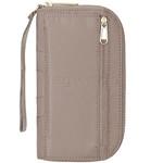 Pacsafe Citysafe CX Anti-Theft Wristlet Wallet Tan 20430 - 1