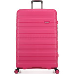 Antler Juno 2 Hardside Suitcase Set of 3 Pink 42215, 42216, 42219 with FREE GO Travel Luggage Scale G2006 - 2