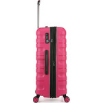 Antler Juno 2 Hardside Suitcase Set of 3 Pink 42215, 42216, 42219 with FREE GO Travel Luggage Scale G2006 - 3