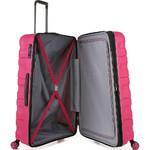 Antler Juno 2 Hardside Suitcase Set of 3 Pink 42215, 42216, 42219 with FREE GO Travel Luggage Scale G2006 - 4