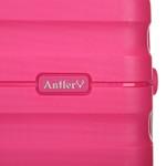 Antler Juno 2 Hardside Suitcase Set of 3 Pink 42215, 42216, 42219 with FREE GO Travel Luggage Scale G2006 - 7