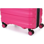 Antler Juno 2 Large 80cm Hardside Suitcase Pink 42215 - 7