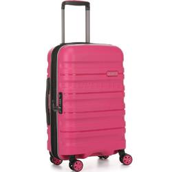 Antler Juno 2 Small/Cabin 56cm Hardside Suitcase Pink 42219