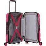 Antler Juno 2 Small/Cabin 56cm Hardside Suitcase Pink 42219 - 3