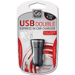 GO Travel USB In-Car Charger GO037 - 3